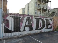 Jade graffiti, San Francisco (duncan) Tags: graffiti sanfrancisco jade