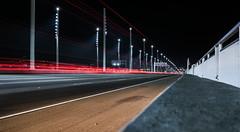 incline speed (pbo31) Tags: sanfrancisco california night dark color nikon d810 city urban boury pbo31 march spring 2017 baybridge easternspan bridge 80 infinity lightstream traffic yerbabuenaisland red speed incline curb