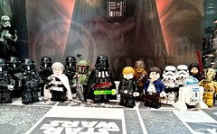May the 4th !!! (Super early 40th anniversary post) (Sir Prime) Tags: lego starwars maythe4thbewithyou darthvader lukeskywalker hansolo chewbacca deathtroopers directorkrennic r2d2 c3po custom moc