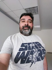 May the 4th be with you... (SamwiseGamgee69) Tags: maytheforcebewithyou star wars emilio me myself i yo mismo self maythe4th maythefourth