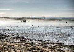looking from the Lindisfarne Island (neilalderney123) Tags: ©2017neilhoward eye landscape olympus water reflections lindisfarne island holyisland