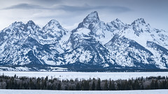 Grand Teton National Park (Jeremy Duguid) Tags: grand teton national park jackson hole wyoming travel nature landscape landscapes mountains mountain snow winter peaks gtnp trees sunset tetons wy west western sony jeremy duguid