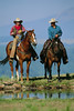 CB104470 (cheroyori) Tags: 2 adults agriculture americanquarterhorses animalriding animals bay chestnut clothingaccessories colorphotography cowboyhats cowboys farmscenes farms hats headgear horseriding horses males mammals men occupationsandwork outdoors people photography ranches riding ruralscenes toughness wearing whites