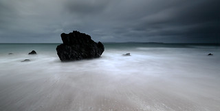 Long exposure at Ballycastle