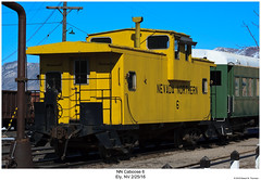 NN Caboose 6 (Robert W. Thomson) Tags: nn nevadanorthern train trains traincar railroad railway ely nevada