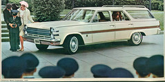 1966 American Motors Ambassador 990 Station Wagon (coconv) Tags: car cars vintage auto automobile vehicles vehicle autos photo photos photograph photographs automobiles antique picture pictures image images collectible old collectors classic ads ad advertisement postcard post card postcards advertising cards magazine flyer prestige brochure dealer 1966 american motors ambassador 990 station wagon 66 amc rambler white wood woody