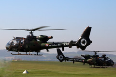 armee de TERRE (NTG's pictures) Tags: middlewallop hampshireengland gazelle50th anniversary fly in aac alat raf faa aerospatiale sa342m gazelle armee de terre 4207 sa342ma 4072