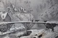 Paysage de montagne (RarOiseau) Tags: alpesdehauteprovence colmars musée intérieur dessin