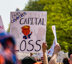 2017.04.15 #TaxMarch Washington, DC USA 02419 (tedeytan) Tags: pennsylvaniaavenue resistance taxmarch taxmarchdc taxmarcdc trumpchicken trumpinternationalhotel donaldtrump protest uscapitol washington dc unitedstates geo:city=washington camera:make=sony exif:make=sony exif:model=ilce6300 geo:state=dc geo:country=unitedstates camera:model=ilce6300 exif:isospeed=100 exif:aperture=ƒ63 exif:lens=e18200mmf3563 exif:focallength=200mm