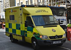 LJ53BVH (Cobalt271) Tags: lj53bvh las mercedes sprinter 416 cdi training ambulance nhs