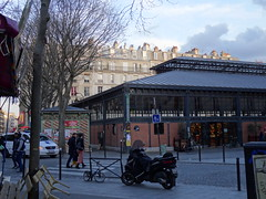 Old parisian covered market architecture (Jeanne Menjoulet) Tags: parisian architecture marchédelachapelle paris marchécouvert coveredmarket mélenchon