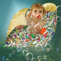 Boy play (jaci XIII) Tags: menino brinquedo bolha oob bubble toy boy