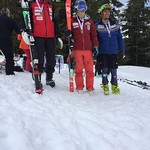 Whistler Spring Series Slalom - Day 1 men's U19 podium