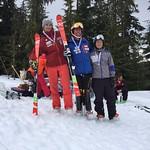 Whistler Spring Series Slalom - Day 1 men's overall podium