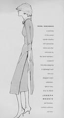 Evan-Picone 1956 (barbiescanner) Tags: vintage retro fashion vintagefashion 50s 50fashion vintagevogue vogue vintageads josephmagnin bettybrady evanpicone