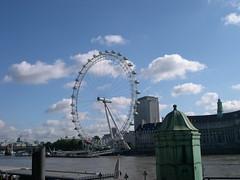 London Eye From Westminster Bridge. (Cycling Saint) Tags: london londoneye westminsterbridge nikoncoolpix4300
