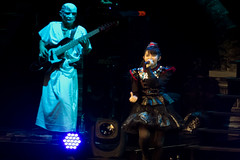 Su-metal and BOH, Babymetal, SSE Wembley Arena, London, UK (rmk2112rmk) Tags: babymetal ssewembleyarena london sumetal boh suzukanakamoto bohtesaisuke wembleyarena sse wembley