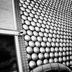 big L (khrawlings) Tags: circles cladding square selfridges shopping bullring birmingham security cctv camera