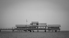 Bjerreds Saltsjöbad, Bjärred (s_p_o_c) Tags: sverige sweden skåne bjärred lommakommun bjerredssaltsjöbad kallbadhus openairbath långabryggan restaurang restaurant bastu sauna arkitekt architect arkitektur architecture