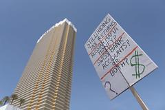 Las Vegas demonstrators demand Trump releases his tax returns (FreezeTimeDigital) Tags: lasvegas nevada usa vegas sincity protest demonstration rally taxrelease tax presidenttrumptrump donaldtrump trumpinternationalhotel photojournalism nikond750 nikond7200