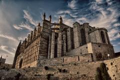 La Catedral HDR (candi...) Tags: lacatedraldemallorca catedral iglesia cielo nubes arquitectura religión sonya77 mallorca