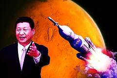 China To Beat NASA in The Moon Race? (capitolgeisha) Tags: china mars moon moonrace nasa politicians politics usa