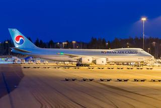 HL7617 Boeing 747-8F Arlanda April 2017
