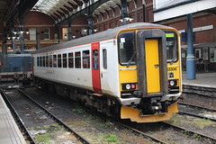 153306 (matty10120) Tags: train railway rail travel transport class abellio greater anglia 153 norwich