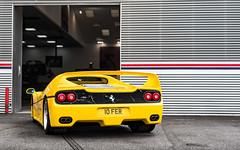 10 FER (Alexbabington) Tags: ferrari f50 yellow giallo giallomodena italian cars car supercar supercars london