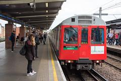 West Ham (std70040) Tags: dstock districtline underground londonunderground train electrictrain emu westham station railwaystation trainstation railway