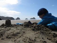 the baby boy on the beach (carolyn_in_oregon) Tags: crescentbeach cannonbeach pacificocean ecolastatepark coast jacob