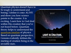 Role of quantum physics mechanics in the science (quantumcreationministries1) Tags: quantumcreation quantumtheoryinphysics quantumtheoryphysics creationofworld quantumphysicsandmechanics physicsquantumtheory godscreationoftheworld creationoftheworld quantumphysicstheories quantumphysics