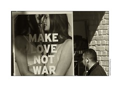 P2270483 (cowsandgirl71) Tags: panasonic fz200 france scènederue monochrome love war femme