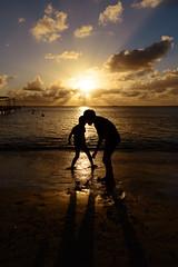 Beachplay (H.H. Mahal Alysheba) Tags: beach sunset kids children landscape sea water saipan travel nikon d800 carlzeiss zeiss distagon 28mmf2