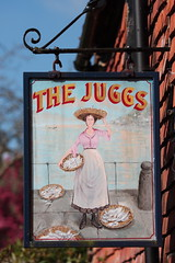 The Juggs pub sign Kingston East Sussex UK (davidseall) Tags: the juggs pub pubs sign signs inn tavern bar public house houses kingston lewes east sussex uk gb british english village country traditional