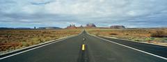 Monument Valley (thermionic_valve) Tags: hasselblad hasselbladxpan xpan cinestill800t kodakfilm cinestill monumentvalley utah