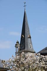 - (.urbanman.) Tags: bretagne eglise clocher printemps coq horloge ardoise saintdidier