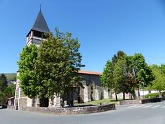 Saint-Étienne-de-Baïgorry/Baigorri, Pyrénées-Atlantique: église Saint-Étienne (Marie-Hélène Cingal) Tags: france sudouest aquitaine nouvelleaquitaine pyrénéesatlantiques 64 bassenavarre
