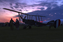 Sunset Silhouette (Kev Gregory (General)) Tags: timeline events sunset night shoot stow maries great war aerodrome maldon essex world one wwi raf rfc royal flying corp air force sqn squadron biplane aircraft aeroplane historic kev gregory canon 7d factory be2e replica cn 752 a2767 a 2767