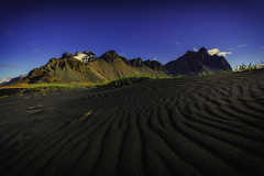 Groovy (Raw Perfection Photography) Tags: vestrahorn blacksand sunrise iceland batmanmountain