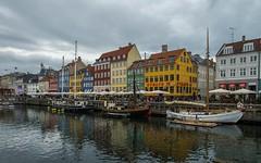 Copenhagen (01) (Vlado Ferenčić) Tags: denmark danska kopenhagen citiestowns cities cityscape clouds cloudy sea boats sailboatship nikond600 nikkor173528 nyhavn vladoferencic vladimirferencic copenhagen