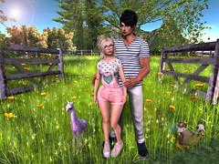 A Walk In The Park <3 (Tilly & Brayden Thirdborn (Tilly Arun)) Tags: theseasonsstory maitreya dura glamaffair vincue vincuekibitz truth truthhair 3 mom menonlymonthly rebellion adclothing halfdeer hpmd