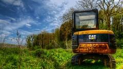 The Machine (YᗩSᗰIᘉᗴ HᗴᘉS +8 000 000 thx❀) Tags: hdr machine nature blue green cat caterpillar photomatix sky bluesky hensyasmine