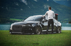 AUDI RS6 (JAYJOE.MEDIA) Tags: audi rs6 low lower lowered lowlife stance stanced bagged airride static slammed wheelwhore fitment