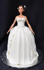 Wedding barbie cake (jennywenny) Tags: barbie wedding cake