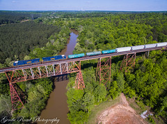 692 returns to the Clinchfield (grady.mckinley) Tags: brice cliffside north carolina broad river trestle clinchfield