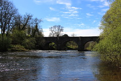 Stone Bridge over the River Usk (demeeschter) Tags: wales monmouth brecon canal boat narrowboat cruise wood national park beacon landscape view fields sheep forest water hills mountains village town nature