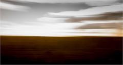 The color of fields (Beppe Rijs) Tags: deutschland germany schleswigholstein schlei wolken wolkendecke frühling spring landschaft landscape natur nature field feld gras horizont horizon grün green clouds farbig colored line linie pastell verzerrt verschwommen blurred blur fertile fruchtbar freshly plow frisch pflügen sowing aussaat color farbe acker