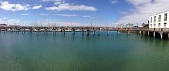 Marina Rubicon (tomaskotlar) Tags: holiday sea marina blue photography landscape lanzarote bridge sun mood water wander travel sky