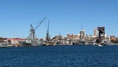Garden Island, Sydney, NSW. (dunedoo) Tags: navalship ran navy gardenisland sydney nsw newsouthwales australia nikonl820